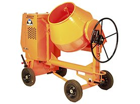 site concrete mixer hire, cheshire