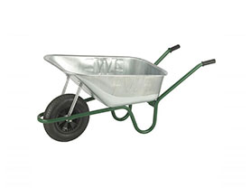 Wheelbarrow Endurance Galvanised, cheshire